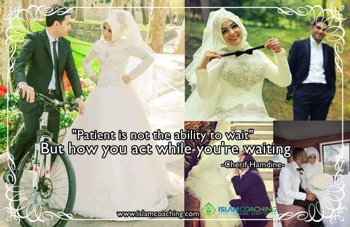 geduld in huwelijk